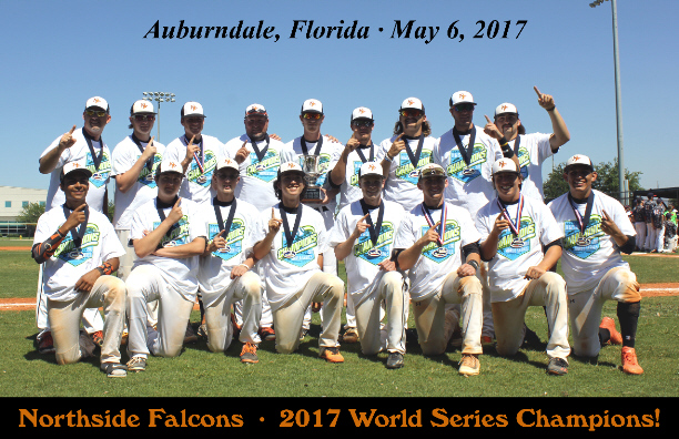 Northside Falcons - 2017 Homeschool World Series Champions!